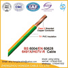 300/500v 10mm2 copper pvc insulated electrical wire cable
