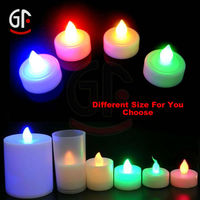 Home Decoration China Supplier Wholesale Moving Wick Flamess Flashing Led Candle