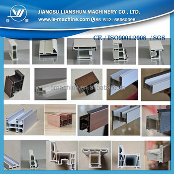 Jiangsu Zhangjiagang PVC UPVC Window Profile Production Line Price