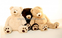 wholesale stuffed giant plush teddy bear/giant teddy bear skin/promotional big size giant teddy bear