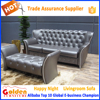 Golden Diamonds design modern leather sofa for sale A829#