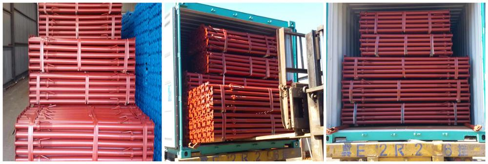 TSX-AP-17-2010 Galvanized Scaffolding Steel Prop from tianjin factory