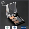 small case eyeshadow cheap waterproof eyeshadow cosmetics shadow type eyebrow powder mirror included
