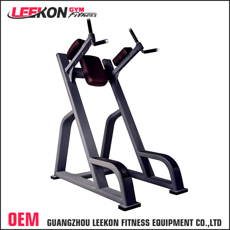 commercial home gym equipment standing abdominal crunch exercise chin dip leg raise machine