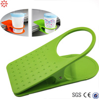 new product good quality plastic drink clip edge of the desk