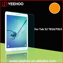 glass screen protector manufacturer PAD tempered glass for samsung tablets T815 Tab S2 T810