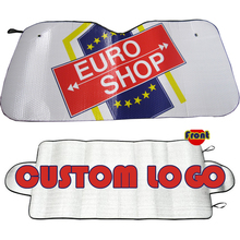 Customized Logo Printed Popular PE Bubble car front window sunshade