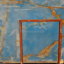 China natural Blue onyx Polished onyx marble price