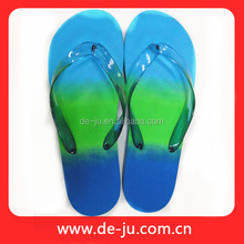 Light Blue Light Green Rainbow Colors Nude 2016 Mens Slipper
