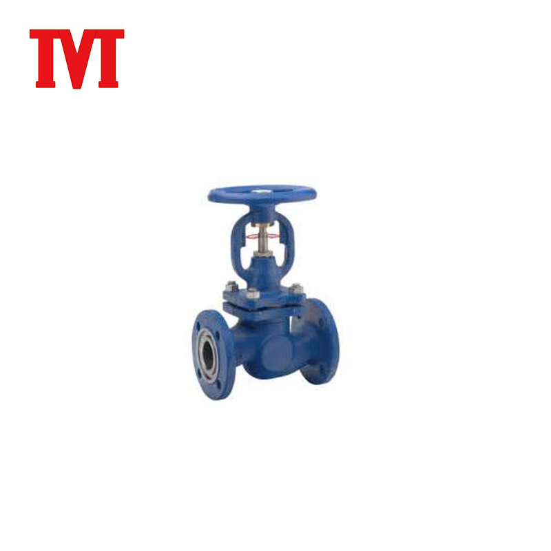 China low price cast iron pneumatic manual globe valve