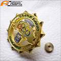 Factory cheap price Sports medallion badge custom