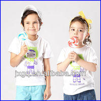 factory manufacturing boys clothing cute tall t-shirts wholesale kids t shirt