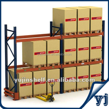 Heavy duty goods storage steel pallet rack / Safety cold rolled steel selective pallet rack