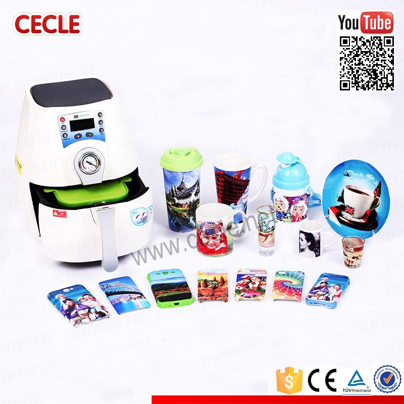 Vinovo mini vacuum sublimation 3d heat printing machine