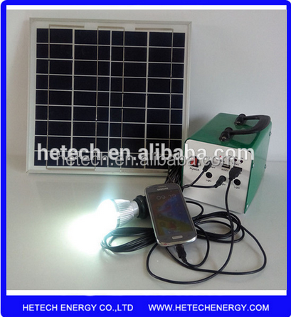 for Afghan africa market 10 watt portable solar power systems for home use