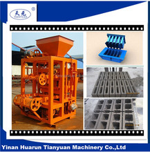 Tianyuan machinery automatic burn free brick forming machine best selling product in india factory OEM