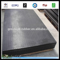 Great Wall high quality and retain the shapes rubber cow mat diamond rubber sheet with cotton layer