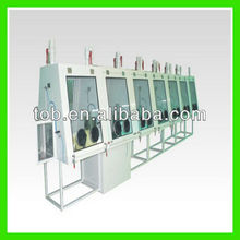 Low humidity glove box machine for mobile phone battery,high air-tight and easy operation