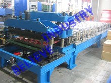 Steel Glazed Metal Roof Tile Cold Roll Forming Machine