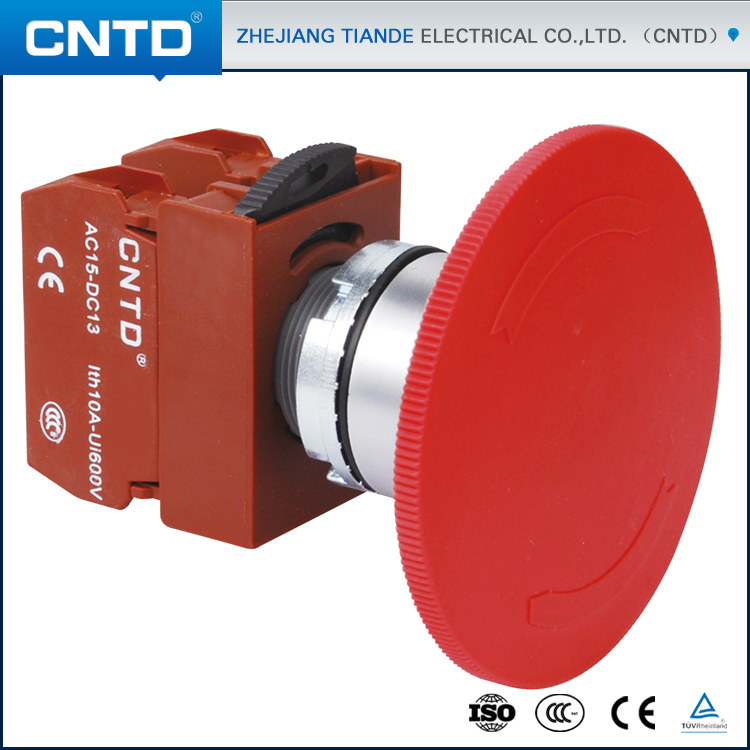 CNTD Latest Innovative Products Emergency Stop Motorcycle Push Button Switch