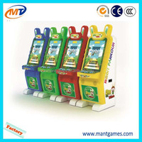Mantong popular rabbit parkour coin operated amusement lottery ticket game machine