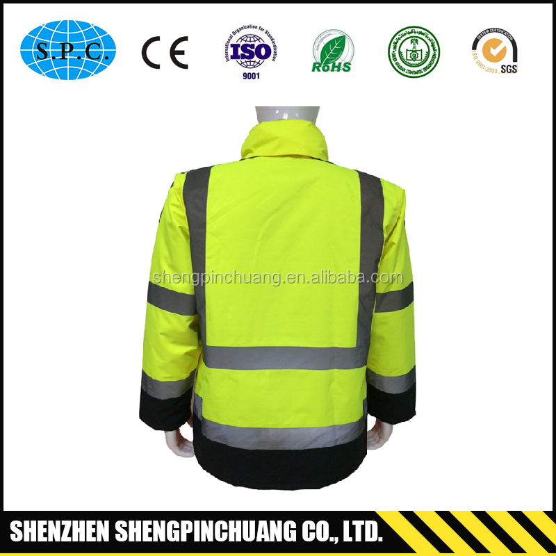 SPC-H026 Fire resistant working reflective coverall workwear