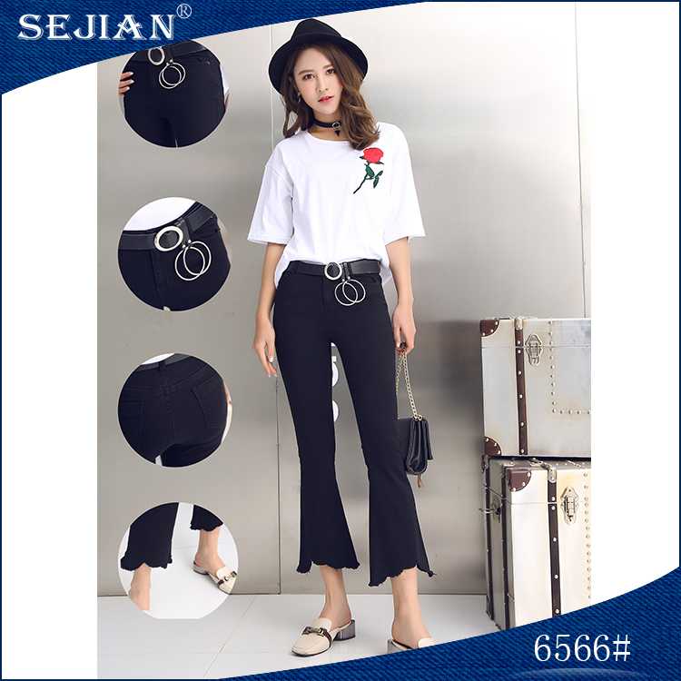 New Style Fashion Work Pants Girls Jeans For Sale