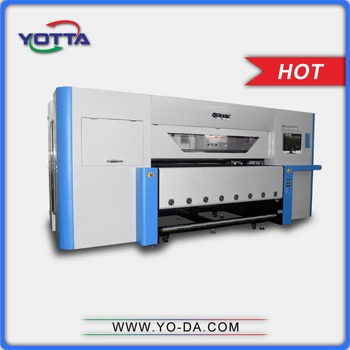 digital textile clothes fabric rotary printing machine