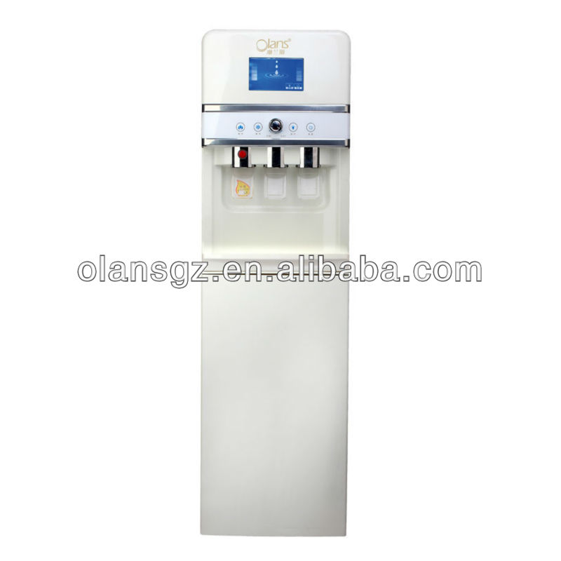 (Large Cold Water Capacity)Instant Hot and Cold Desktop Water Dispenser,Standing type magnetized activated hot &cold water