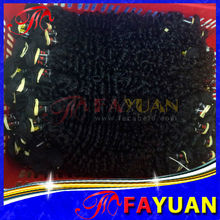 2013 new kinky curly cheap 100% Virgin Remy Peruvian hair Weave