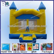 various color and style inflatable buncer for adult and kids games