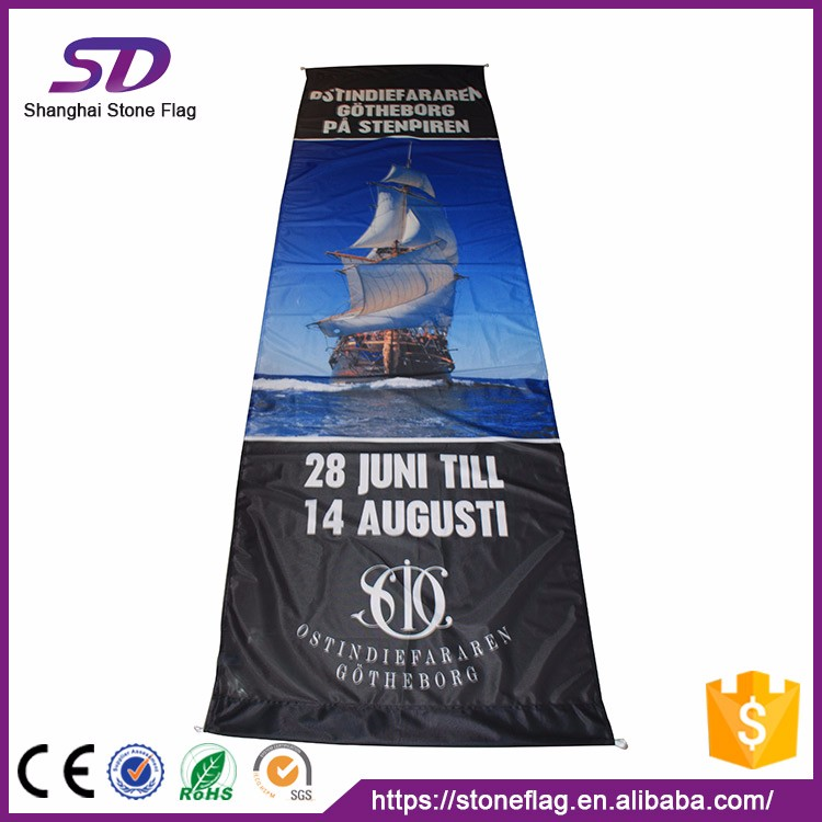 Customized High Quality Flex Textile Banner