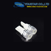 W5W 194 168 bulb lamp 12v T10 LED 1.5W High Power Car led Auto Wedge Side Lights Reverse Parking