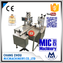 Micmachinery best option MIC-PF40 automatic perfume spray glass bottle filling capping crimping machine line