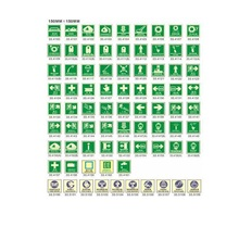 Marine Photoluminescent self IMO Symbols Safety Signs