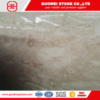TV wall indus gold beige marble block