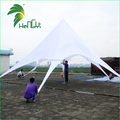 Customized 8m White Star Shade Tent For Sun Shelter