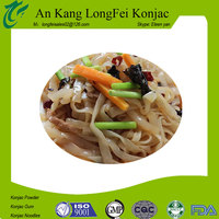 High quality machine grade konjac noodles kosher food distributor