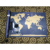 For USD Amazon Gold Foil Hot Stamping Large Globe Scratch It World Map For Promotion,with custom Logo,custom design