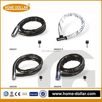 small chain combination iron chain black key motorcycle disc lock