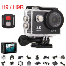 Original 2 Inch H9R Ultra HD 4K / 25fps Remote WiFi waterproof action camera be unique