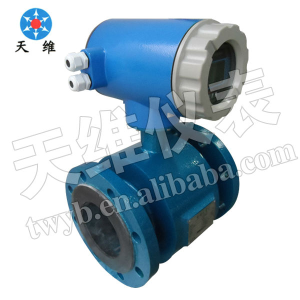 electromagnetic gallon water meter