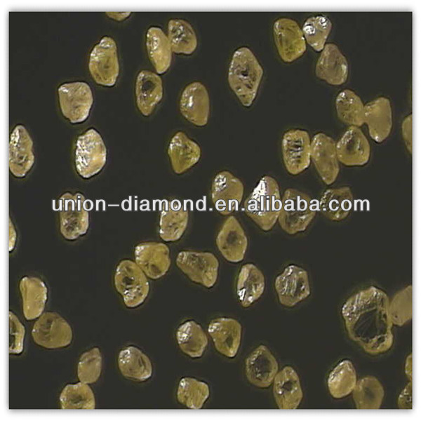 Man made yellow diamonds for wire drawing dies