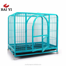 Galvanized Wire Dog Kennels / High Quality Foldable Steel Dog Cage