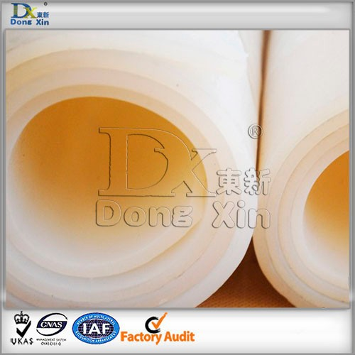 Food grade high heat resistance clear silicone rubber sheet for medical equipment