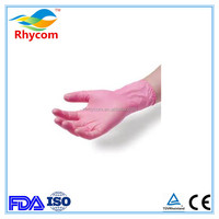 Powdered and powder free disposable examination grade vinyl gloves
