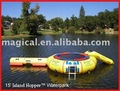 Attractive Inflatable aquatic water trampoline inflatable trampoline