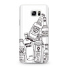 2016 alibaba express TPU silicone waterproof phone case for samsung note5 note 5