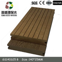 2014 Hot sale solid WPC floor/Solid composite decking