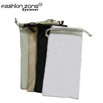 Custom Logo cheap wholesale Ready STOCK soft microfiber sunglasses bag pouch with drawstring